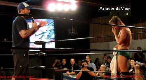 CM Punk à la AAW :)