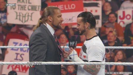 CM Punk vs HHH à NoC? - HHH, Spe Ref - Masters & Joey Styles About Punky - Colt Cabana