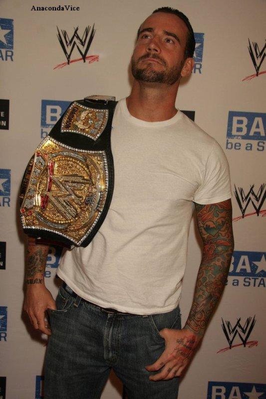 CM Punk à Be A Star