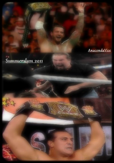 Summerslam 2011 - CM Punk vs John Cena