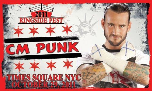 CM Punk au Ringside Fest 2011