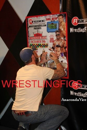 CM Punk au Ringside Fest
