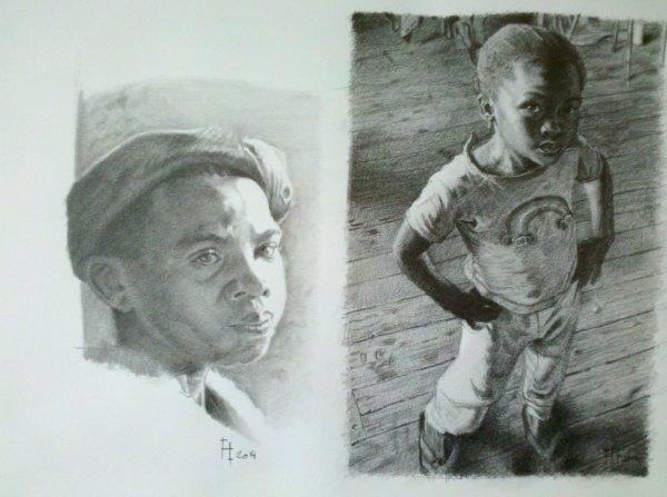 dessin crayon graphite