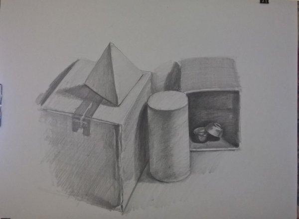 etude au crayon
