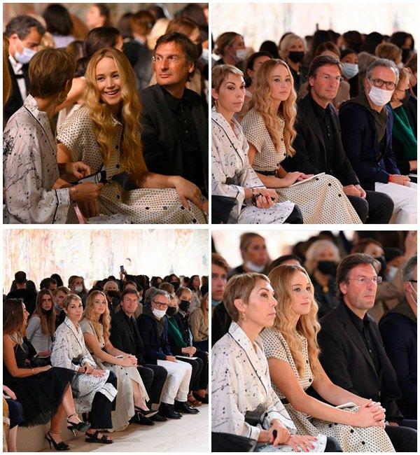 5 Juillet 2021 - Jennifer était au défilé de Dior à Paris