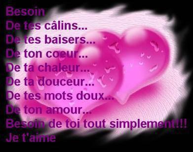 A Toi Mon Amour Tu Me Manque Tellement Mon Blog 3