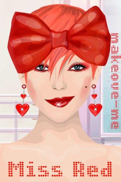 Miss Red.. C'est à la mode !