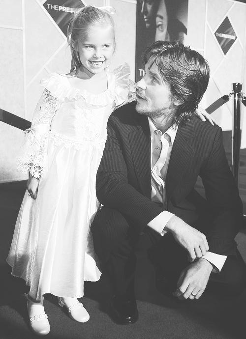 Christian Bale & Samantha Mahurin