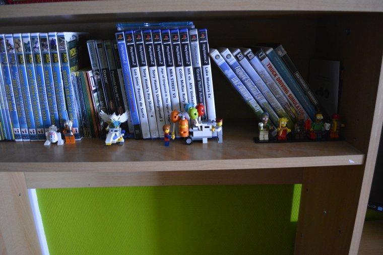 Vue d'ensemble de mes lego
