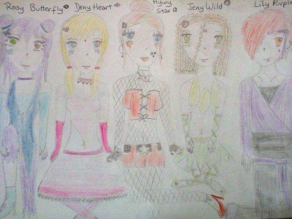 Fiction: Fairy High School, chapitre 4