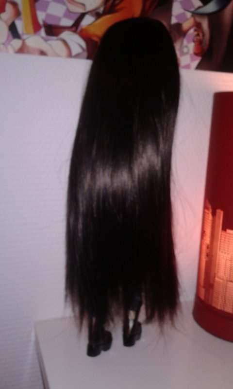 Nouvelle wig pour Yoru ^-^