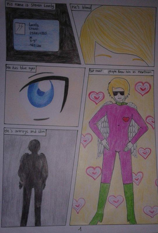 Bande dessinée: Heartman