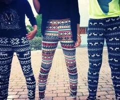 Les leggings imprimés Aztèque