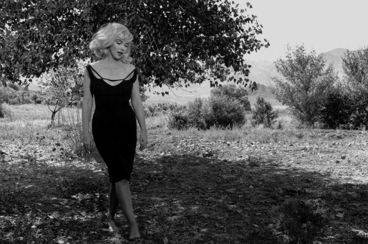 "1960 / by Inge MORATH... Scène du film ""The misfits""."