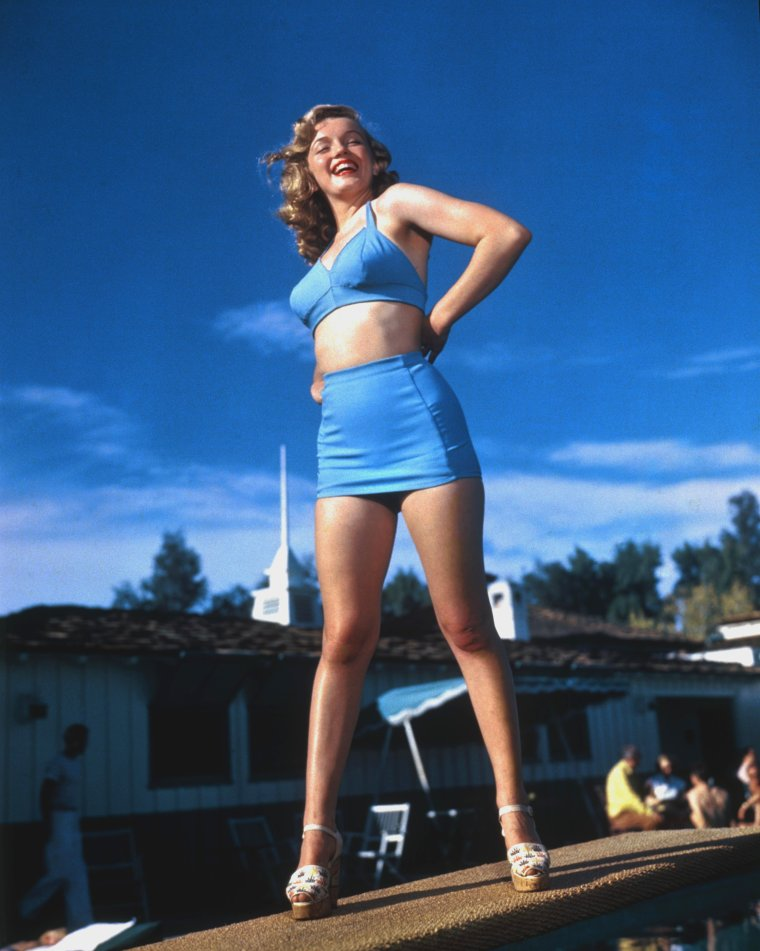"1949 / by Bruno BERNARD au ""Racquet club"" of Palm-Springs."