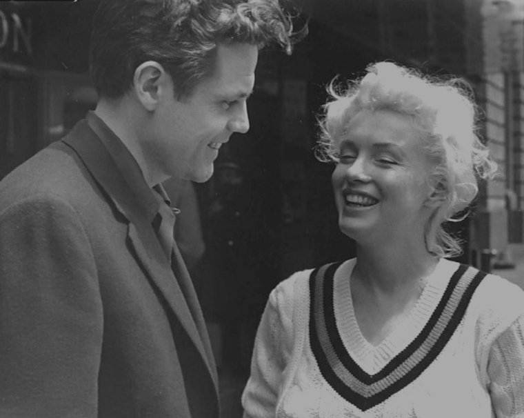 1955 / by Roy SCHATT... Marilyn and Jack LORD