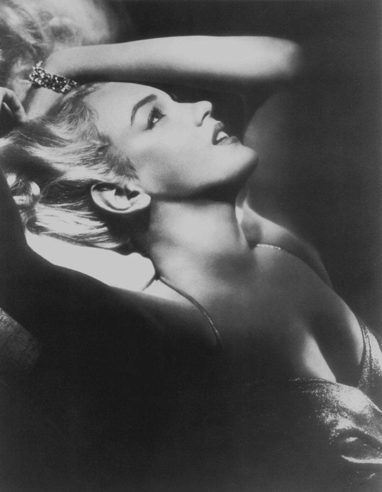 "1950 / by Frank POWOLNY... Portraits publicitaires pour ""All about Eve""."
