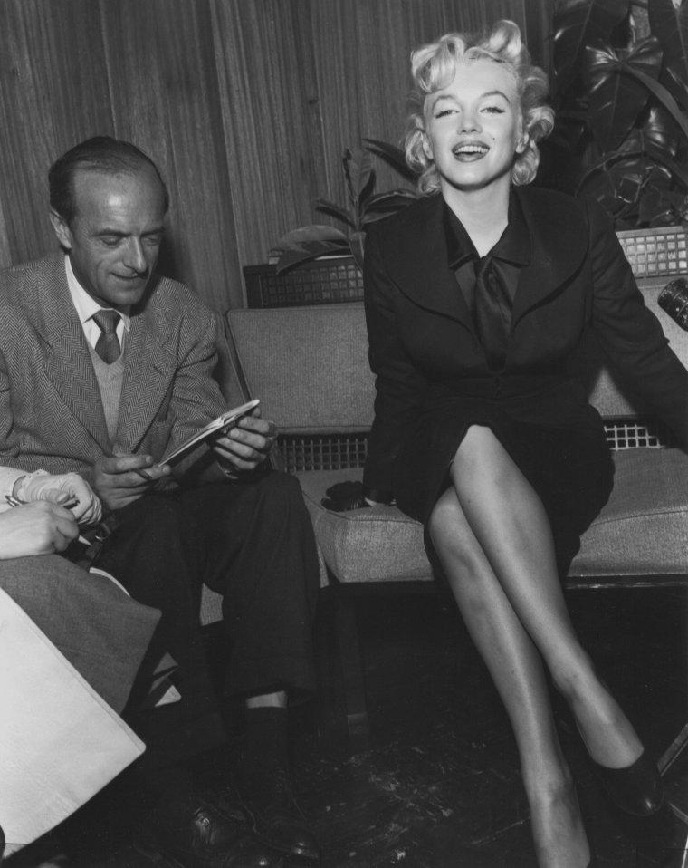 """1956 / Interview avec Milton GREENE à propos du tournage de """"Bus stop"""". (part 2)."""