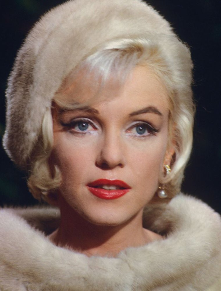 """1962 / Marilyn on the set of """"Something's got to give""""."""