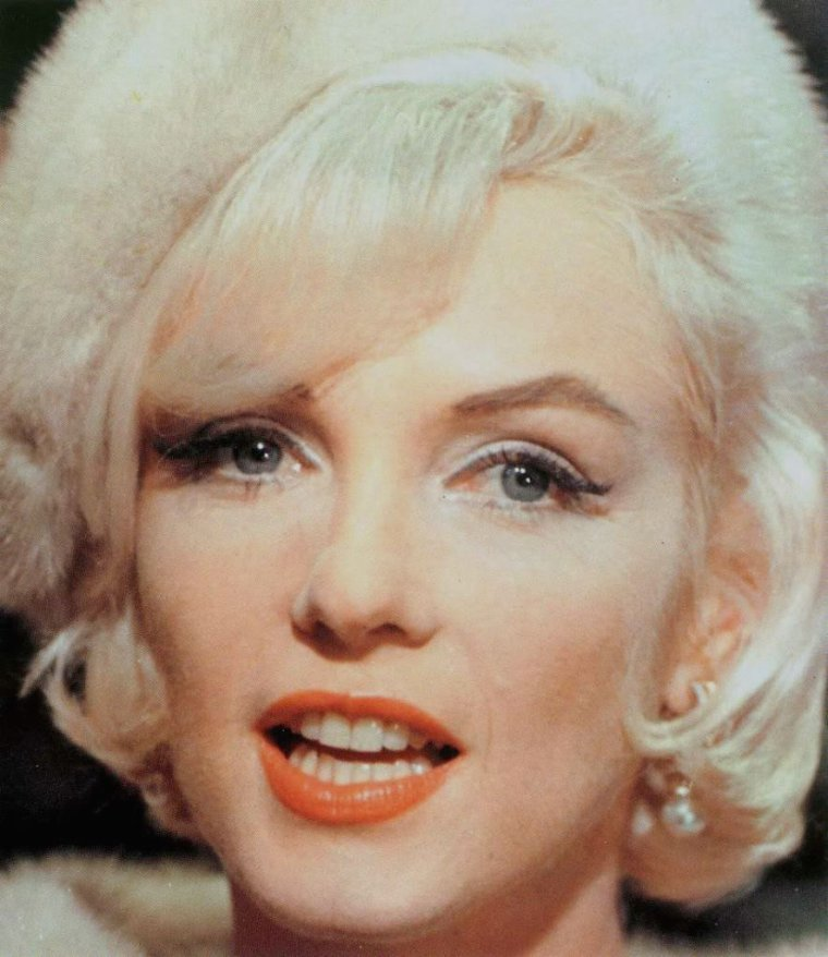 "1962 / Marilyn on the set of ""Something's got to give""."
