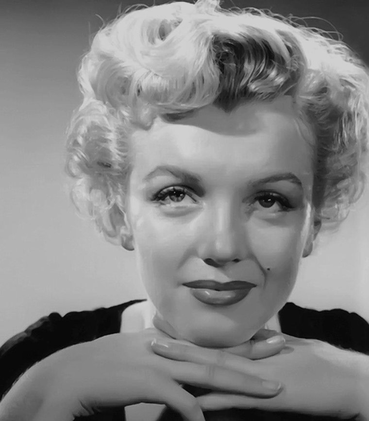1951 / Marilyn en Jean HARLOW by Earl THEISEN