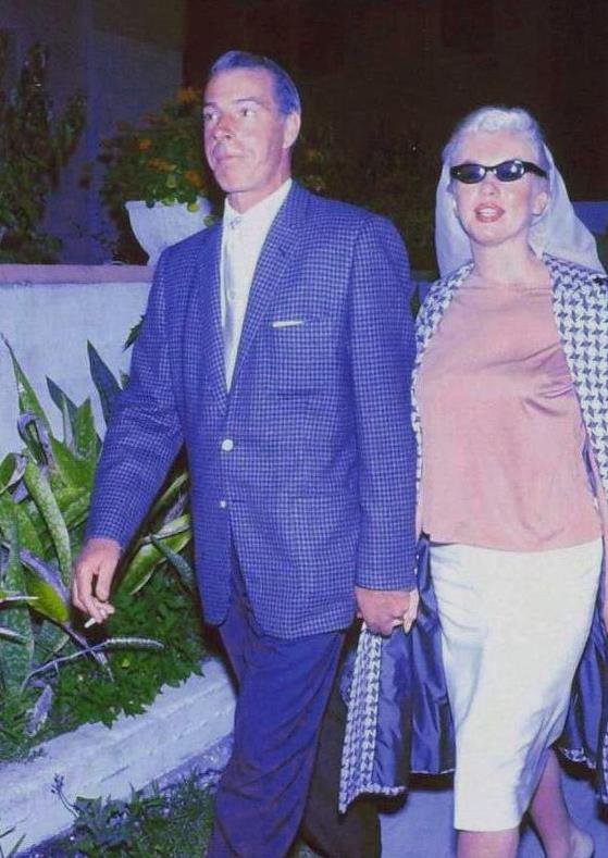 1961 / Marilyn et Joe touristes en Floride...