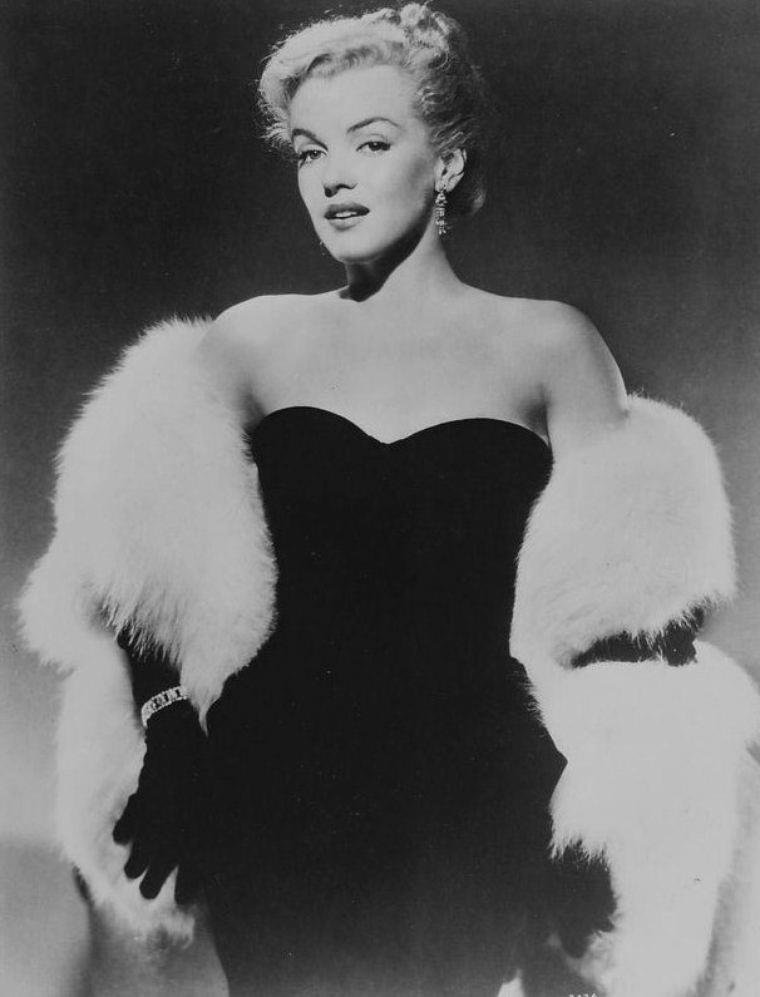 "1950 / Portraits publicitaires pour le film ""All about Eve""."