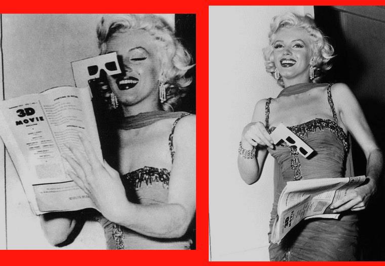 "1953 / by Bruno BERNARD... Marilyn participe à une action caritative organisée au ""Hollywood Bowl"". (part 2, voir TAG)."