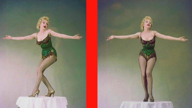 """1956 / by Milton GREENE... Marilyn en justaucorps pour des photos publicitaires du film """"Bus stop"""" (part 2)."""