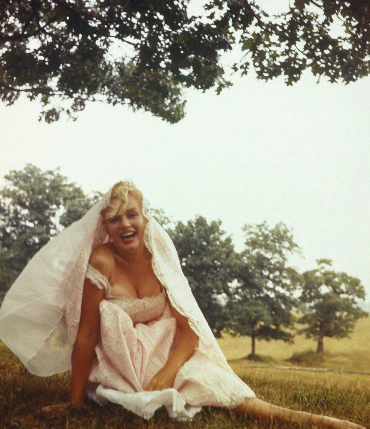 1957 / Marilyn et la nature... by Sam SHAW