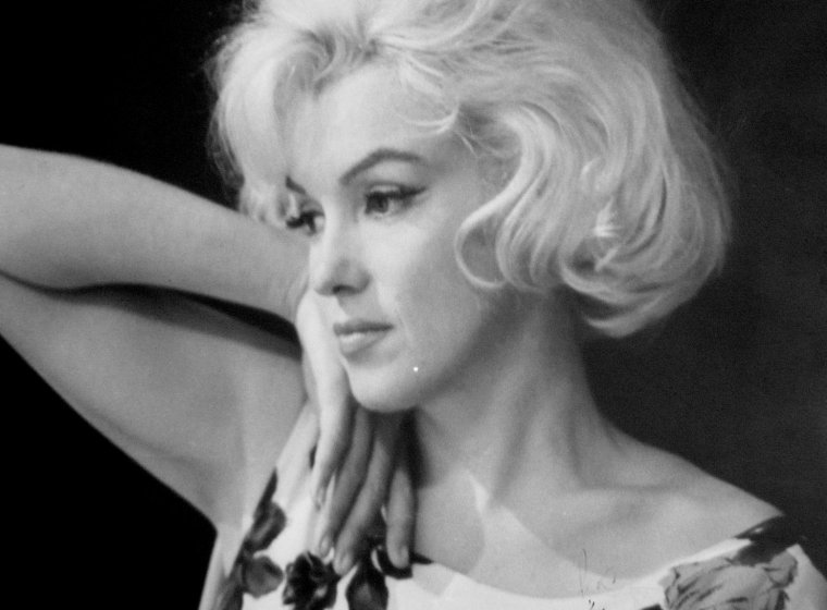 "1962 / Marilyn lors du tournage de son dernier film ""Something's got to give""."