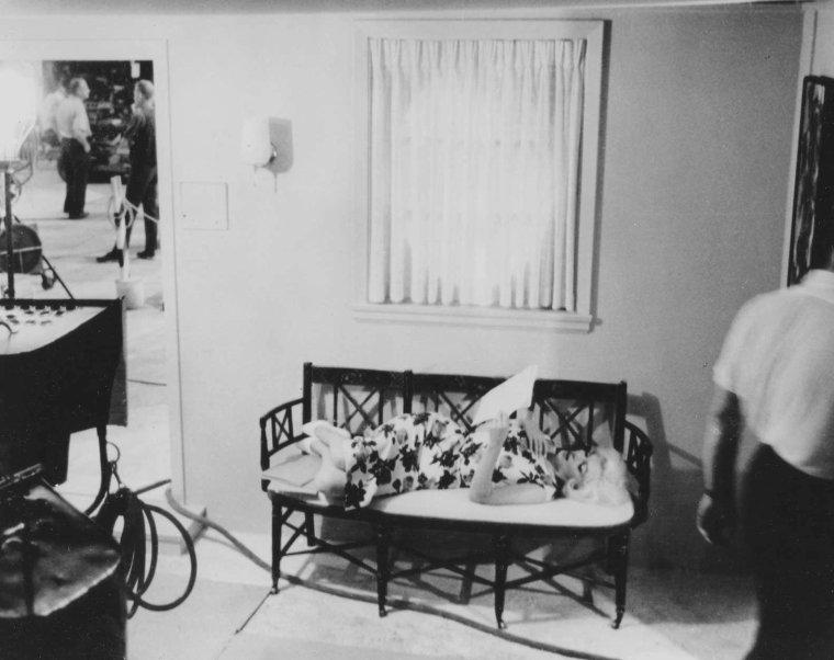 "1962 / Marilyn lors du tournage de son dernier film ""Something's got to give""."