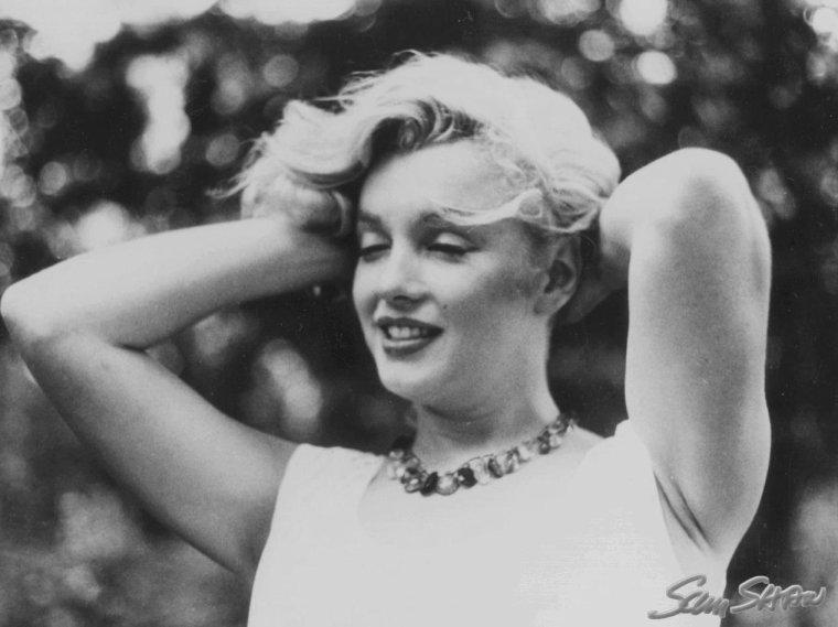 1957 / Marilyn et Arthur by Sam SHAW (nouvelles photos).