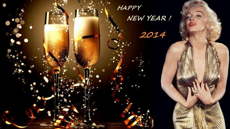 En avance, je souhaite à toutes et à tous une BONNE ANNEE 2014, vu que je ne me connecterai pas avant le 2... GROS BISOUS !