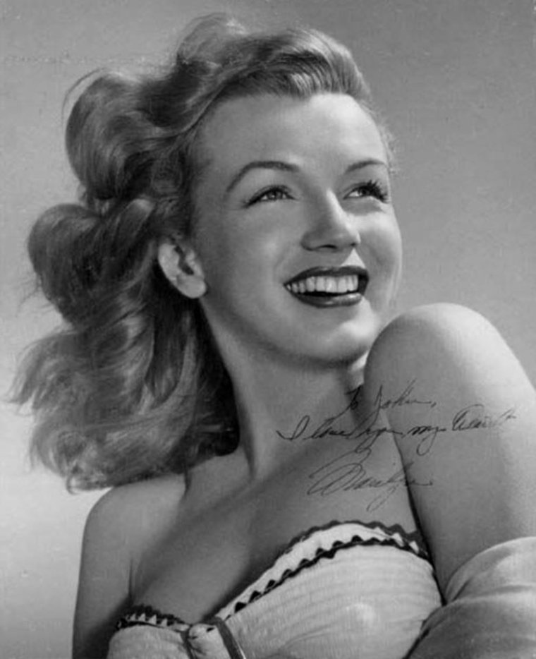 1949 / Young Marilyn by Laszlo WILLINGER