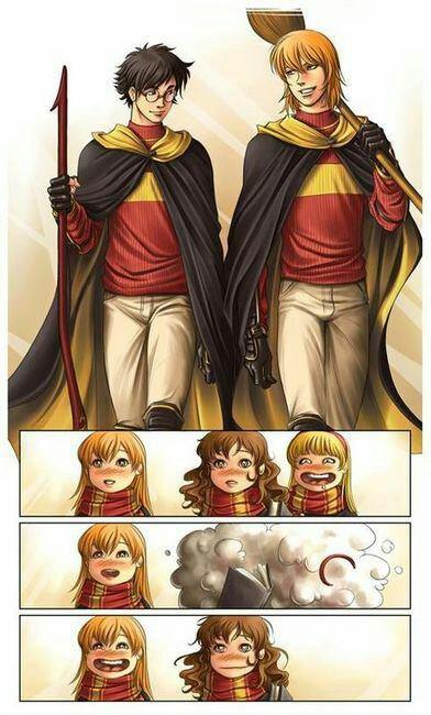 Après l'entraînement de Quidditch