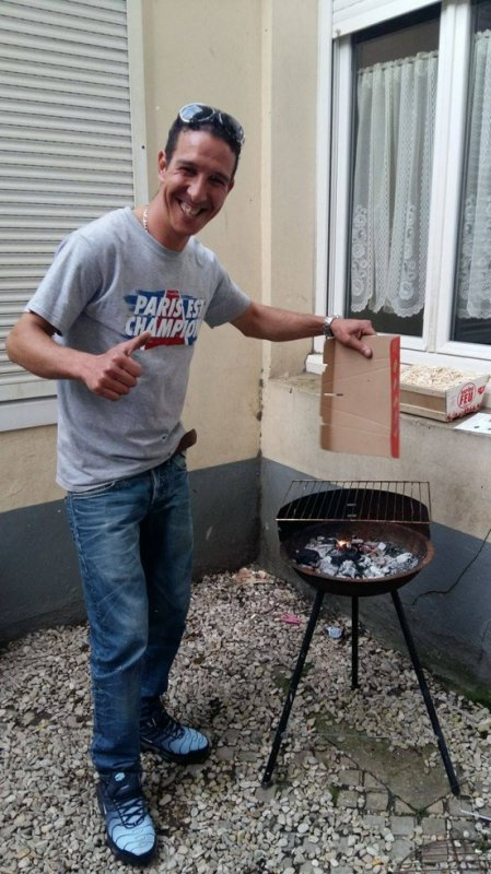mon amour ki gere le barbecue