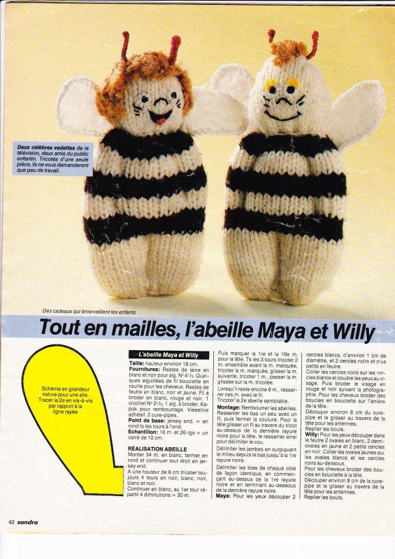 Soldes d 39 hiver mini doudou blog de le tricot de marcelle - Doudou facile a realiser ...
