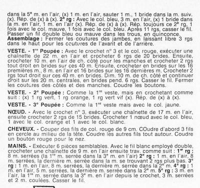 CARNAVAL :SORTIE DE CLOWNS...AU CROCHET  /2