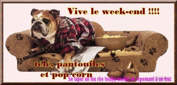 """WEEK-END.....UN PEU D'HUMOUR!!!!....ET  """"ENRUBEE"""""""