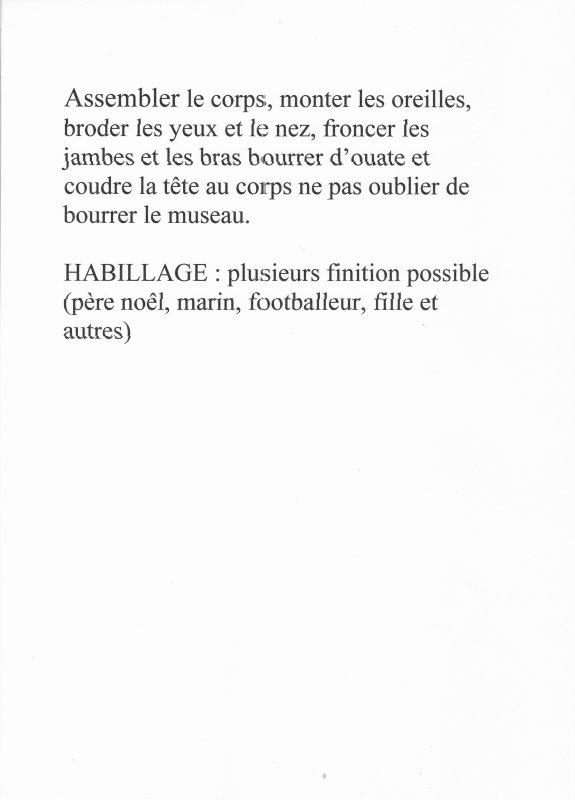 IDEES DOUDOUS POUR LA FIN D'ANNEE.