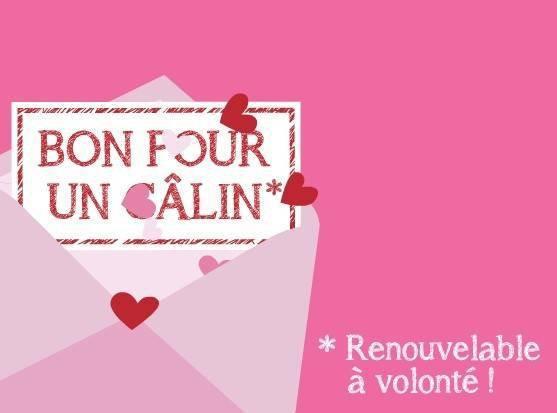 BONNE SAINT VALENTIN.
