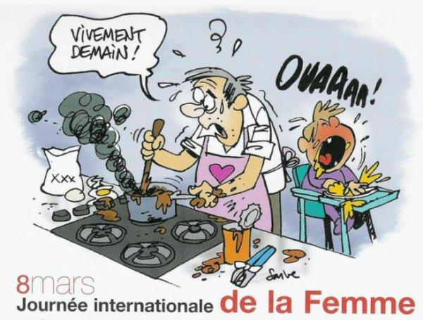8 MARS :JOURNÉE DE LA FEMME.