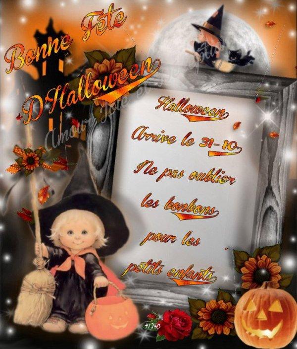 bonne fêté Halloween