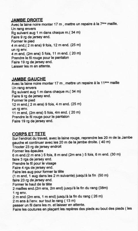 PÈRE NOEL AU TRICOT DE JEAN GREEnHOWE.