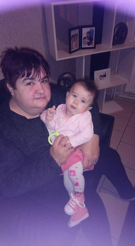 moi et ma petite fille lena