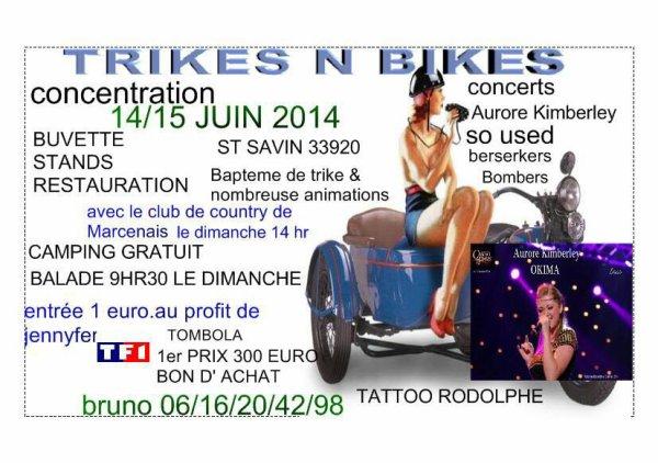 Concentre juin 2014 trike N Bikes