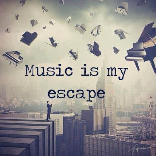 Peu importent les notes, en musique, ce sont les sensations produites qui comptent.