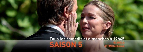 Coup d'envoi de la saison 5 inédite Les mystères de l'amour, samedi 19 octobre ! Likez si vous serez au rendez-vous tout le week-end !