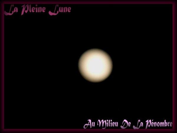 La pleine lune